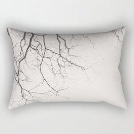 Bare - Winter Nature Photography Rectangular Pillow