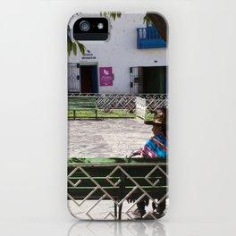 Peruvian Lady iPhone Case