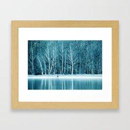 frozen IV Framed Art Print