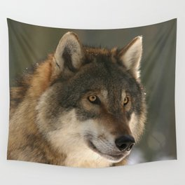Lone Wolf Wall Tapestry