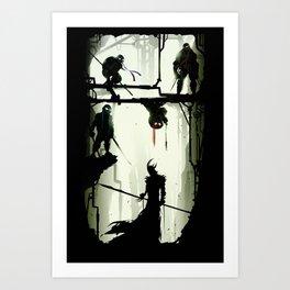 The Last Stand Art Print