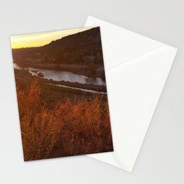 River at Sunrise Stationery Cards