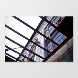 Building in Rehab Canvas Print