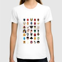 superheroes T-shirts featuring SuperHeroes by Luca Giobbe