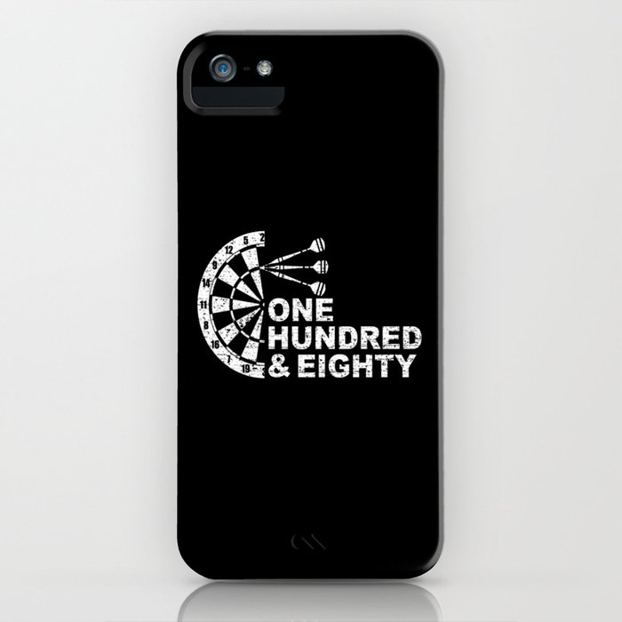 Darts Player Gift One Hundred Eighty iPhone Case