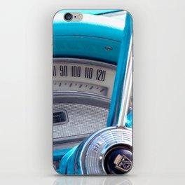 The blue steering wheel iPhone Skin
