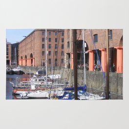 Albert Dock, Liverpool Rug
