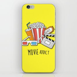 Movie Addict iPhone Skin