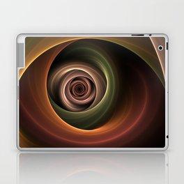 Fractal Depth And Warmth Laptop & iPad Skin