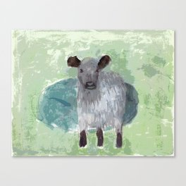 Three Legged Cow Canvas Print