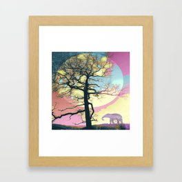 Colorful World Framed Art Print
