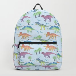 DINOSAURS!, painting by Frank-Joseph Backpack