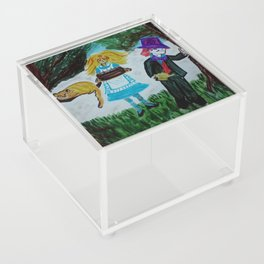 Alice, Happy Birthday Lewis Carroll Acrylic Box