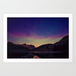 Blea Tarn, Ambleside, United Kingdom Art Print
