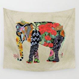 Ms. Ele Phant Wall Tapestry