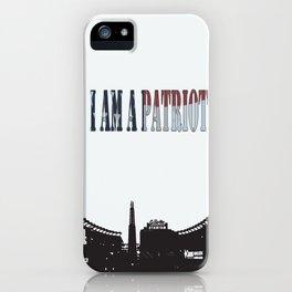 Patriots iPhone Case