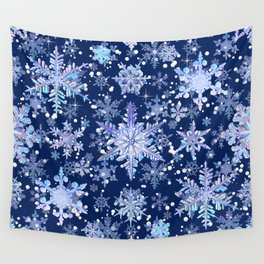 Snowflakes #3 Wall Tapestry