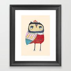 Sweet Owl. owl, owl art, owl print, owls Framed Art Print