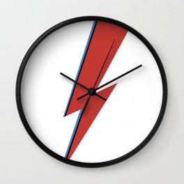 Bowie Bolt Wall Clock