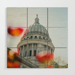 Capitol Blooms Wood Wall Art