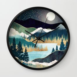 Star Lake Wall Clock