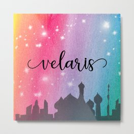 Velaris City Scape Metal Print