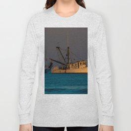 Tucker J fishing boat Long Sleeve T-shirt