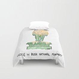 George W. Bush National Monument Duvet Cover