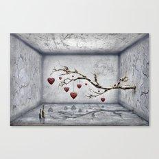 Der alte Liebesbaum  Canvas Print