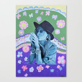 Boho Girl 1 Summer Canvas Print