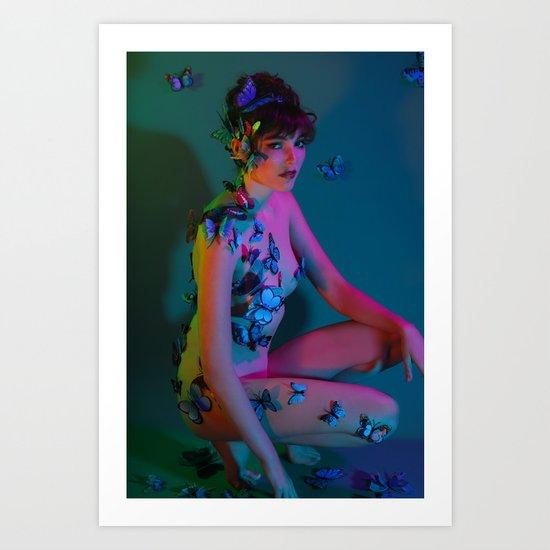 Magical Metamorphosis Art Print