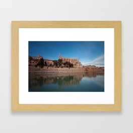Palma Cathedral Framed Art Print