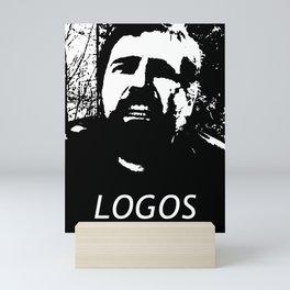 """Owen B """"Logos"""" Mini Art Print"""