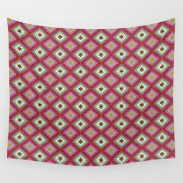 Turkish Kilim Pattern Wall Tapestry
