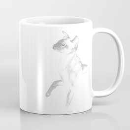 siamese cat ink Coffee Mug