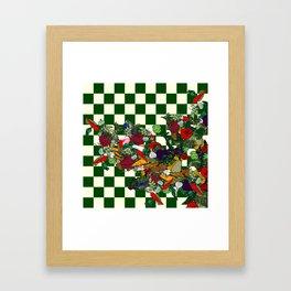 Veggies! Framed Art Print