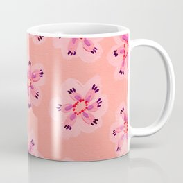 Coral Emily Claire Coffee Mug