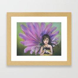 Z imagination Bee Girl Framed Art Print