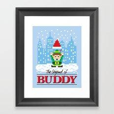 The Legend of Buddy Framed Art Print