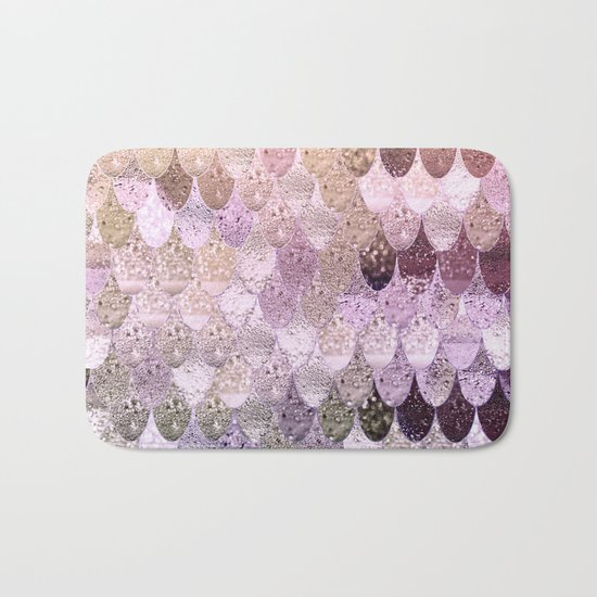 SUMMER MERMAID MOONSHINE GOLD Bath Mat