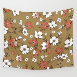 Lovable Flowers 3 Wall Tapestry