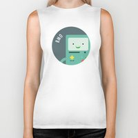 bmo Biker Tanks featuring BMO by gaps81