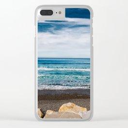 San Diego California Clear iPhone Case