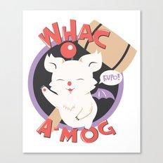 Whac-A-Mog Canvas Print