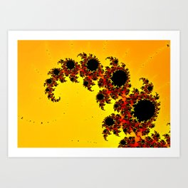 end of calculation Art Print