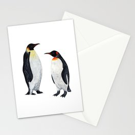 EMPEROR & KING PENGUIN Stationery Cards
