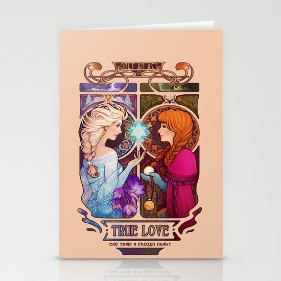 Let Me In - quote version Stationery Cards