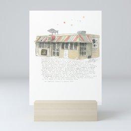 5 Majoribanks Street, Wellington Mini Art Print