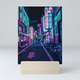 A Neon Wonderland called Tokyo Mini Art Print