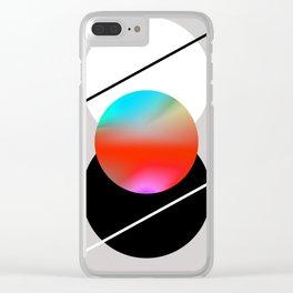Wu Wei Clear iPhone Case